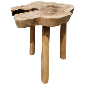 Recycled Teak Wood Ampyang Side Table
