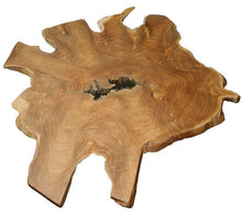 Teak Abstract Coffee Table - La Place USA Furniture Outlet