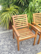 Teak Wood Kasandra Arm Chair - La Place USA Furniture Outlet
