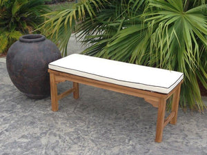 Cushion For 4 Ft Santa Monica Bench-Chic Teak