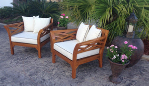 Teak Wood Long Island Chair - La Place USA Furniture Outlet