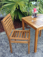 Teak Wood Kasandra Side Chair - La Place USA Furniture Outlet