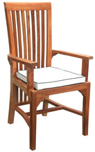 9 Piece Semi Rectangular Teak Balero Table/Chair Set With Cushions - La Place USA Furniture Outlet