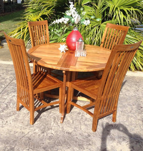 Teak Wood Balero Side Chair - La Place USA Furniture Outlet