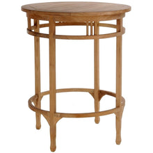 3 Piece Teak Armless Orleans Bar Table/Chair Set With Cushions - La Place USA Furniture Outlet