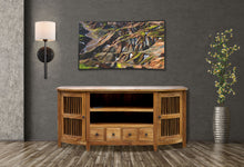 Waxed Teak Wood Belize Buffet - La Place USA Furniture Outlet