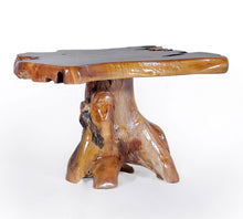 Teak Wood Slab Coffee Table - La Place USA Furniture Outlet