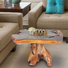 Teak Wood Slab Coffee Table