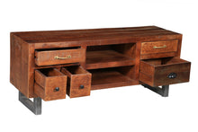Himalaya Mango Wood Media Center - La Place USA Furniture Outlet