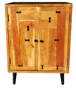 Everglades Acacia Wood Cabinet - La Place USA Furniture Outlet