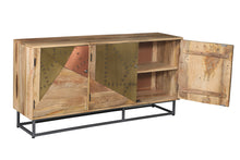 Mozaic Mango Wood Cabinet - La Place USA Furniture Outlet