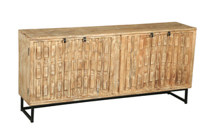 Charleroy Mango Wood Side Board - La Place USA Furniture Outlet