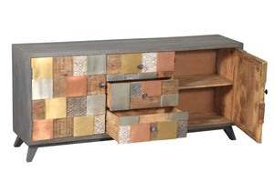 Picasso Mango Wood Buffet - La Place USA Furniture Outlet