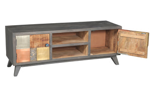 Picasso Mango Wood Media Center - La Place USA Furniture Outlet