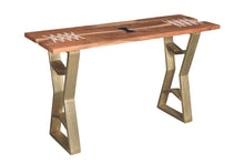Charleston Acacia Wood Console Table - La Place USA Furniture Outlet