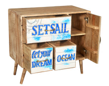 Seaside Mango Wood Chest with 3 Drawers - La Place USA Furniture Outlet