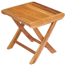 Teak Wood Miami Footstool / Side Table