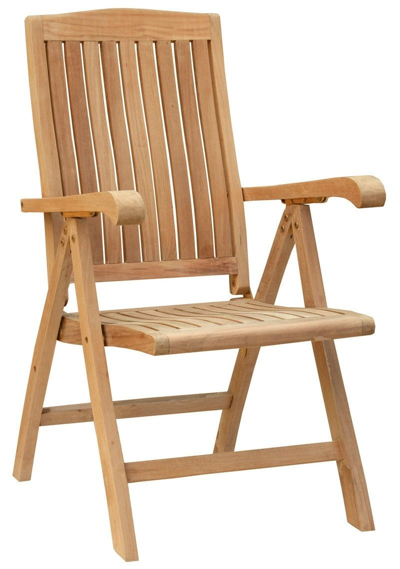 ... Teak Wood Miami Reclining Chair   La Place USA Furniture Outlet ...