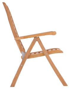 Teak Wood Italy Reclining Chair - La Place USA Furniture Outlet