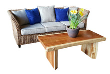 Suar Live Edge Slab Coffee Table - La Place USA Furniture Outlet