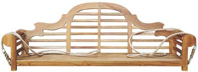 Teak Lutyens Double Swing - La Place USA Furniture Outlet