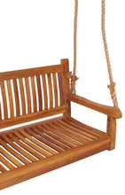 Teak Wood Elzas Triple Swing - La Place USA Furniture Outlet