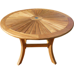 Teak Sun Table, 47 Inch - La Place USA Furniture Outlet