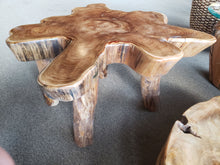 Brazil Suar Wood Unique Slab Coffee Table - La Place USA Furniture Outlet