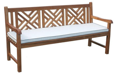 Cushion For Triple Chippendale Bench-Chic Teak