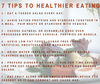 7 tips to healthier eating