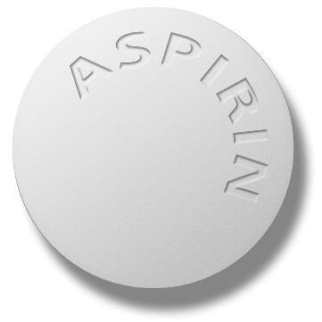 Alert: Aspirin is no longer a heart attack preventive