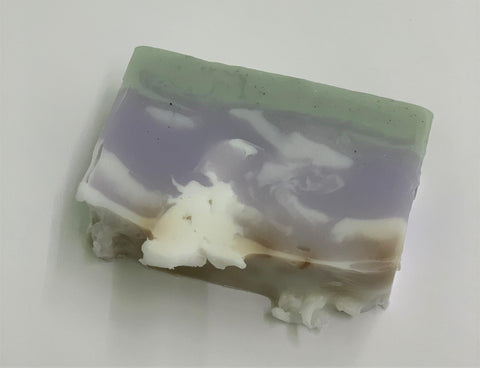 Hemp Oil Soap bar - lavender-mint