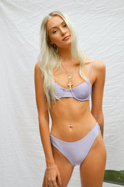 Delilah Top - Lilac
