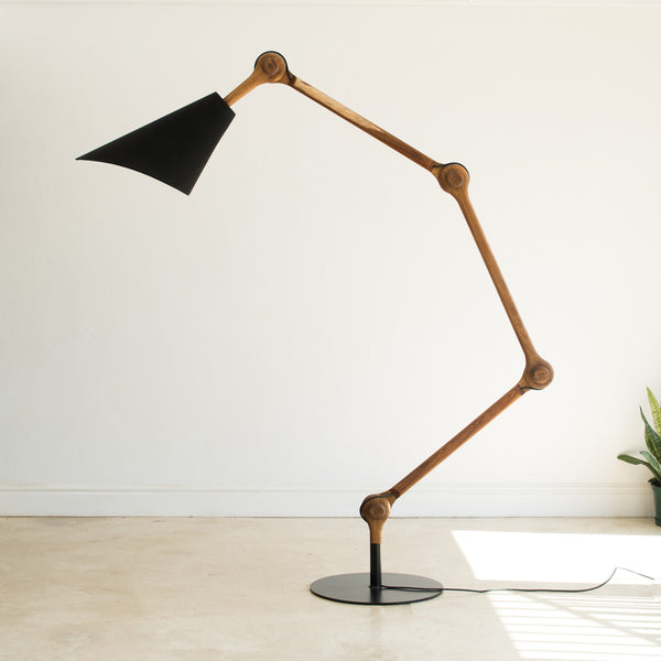 Paplepel floor lamp