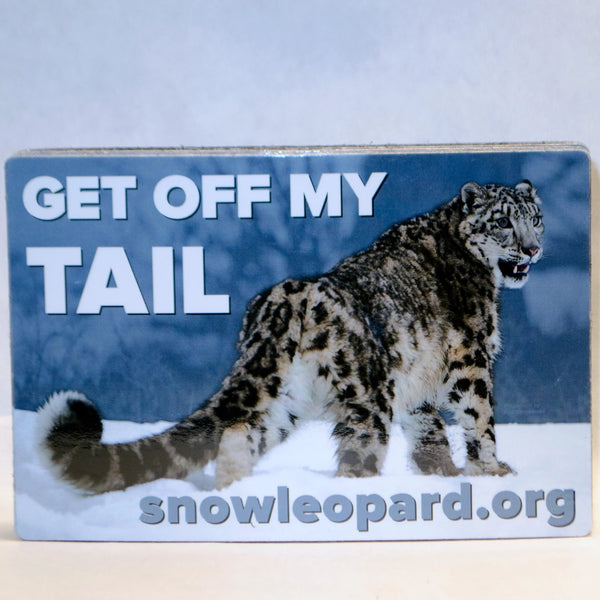 Get Off My Tail! Bumper Magnet
