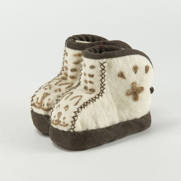 Snow Leopard Face Booties