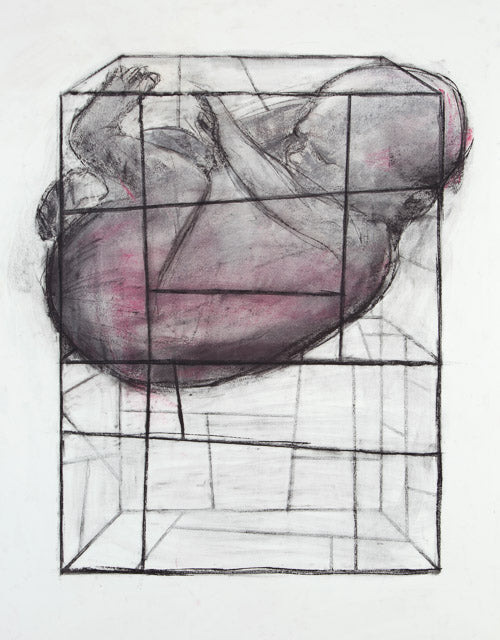 Concept Drawing for Baby Cage (I) by Barbara Downs