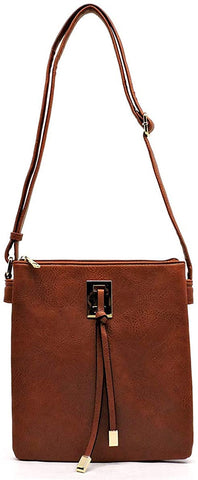 Penelope Concealed Carry CrossBody w/Holster by Emperia Outfitters (Brown)