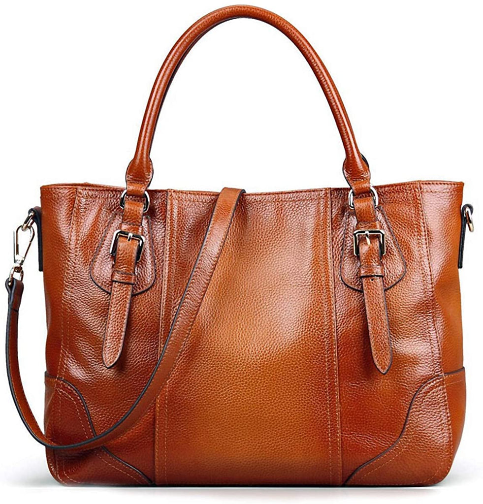 Austin Leather Classics, The Sami Leather Western Tote w/Strap, LARGE