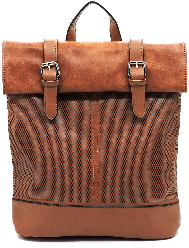 "New Handbag Republic Distressed Effect Larger Backpack- 12"" x 14"""