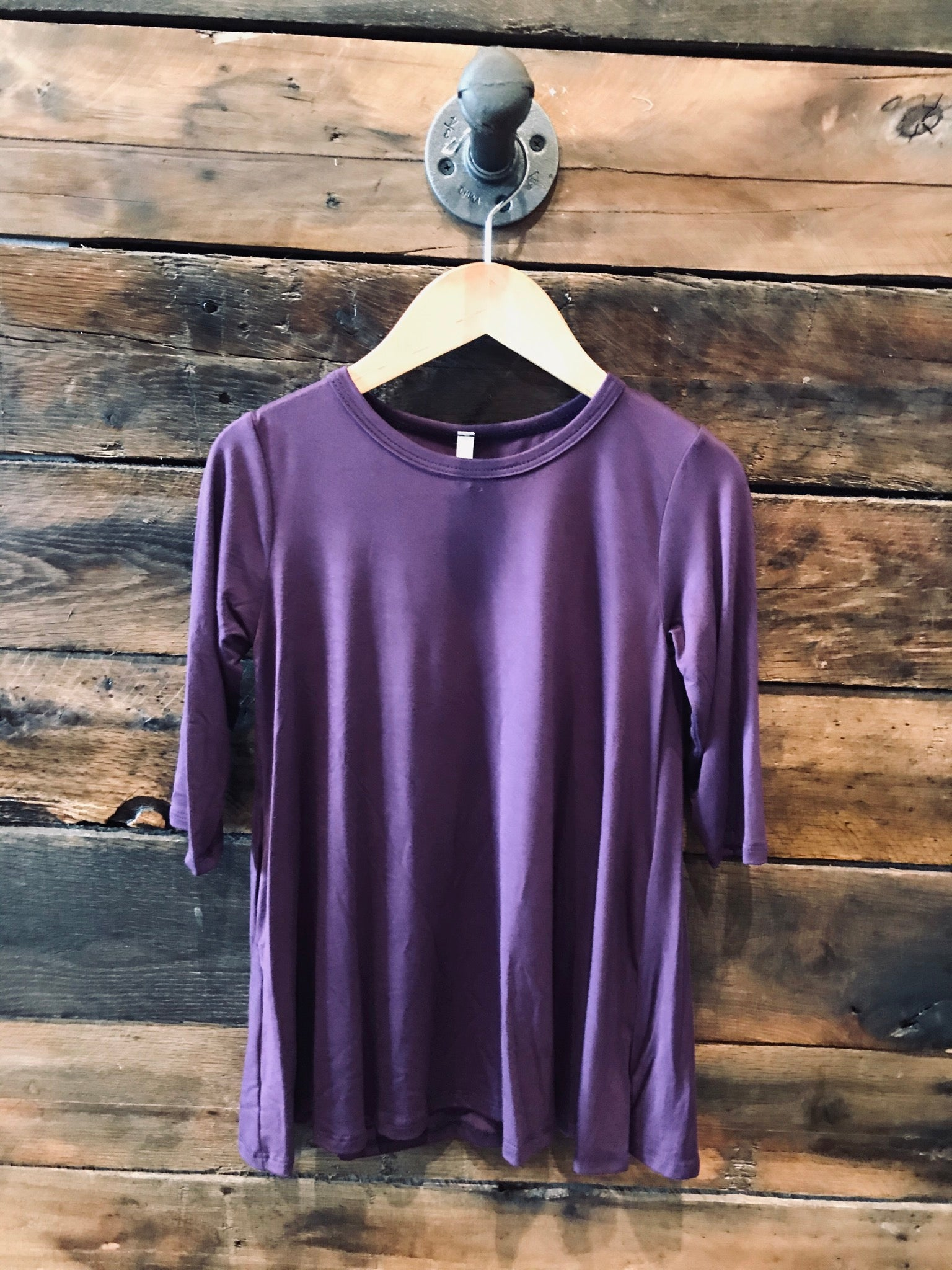 Purple Swing Dress
