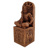 Seated God Wood Finish