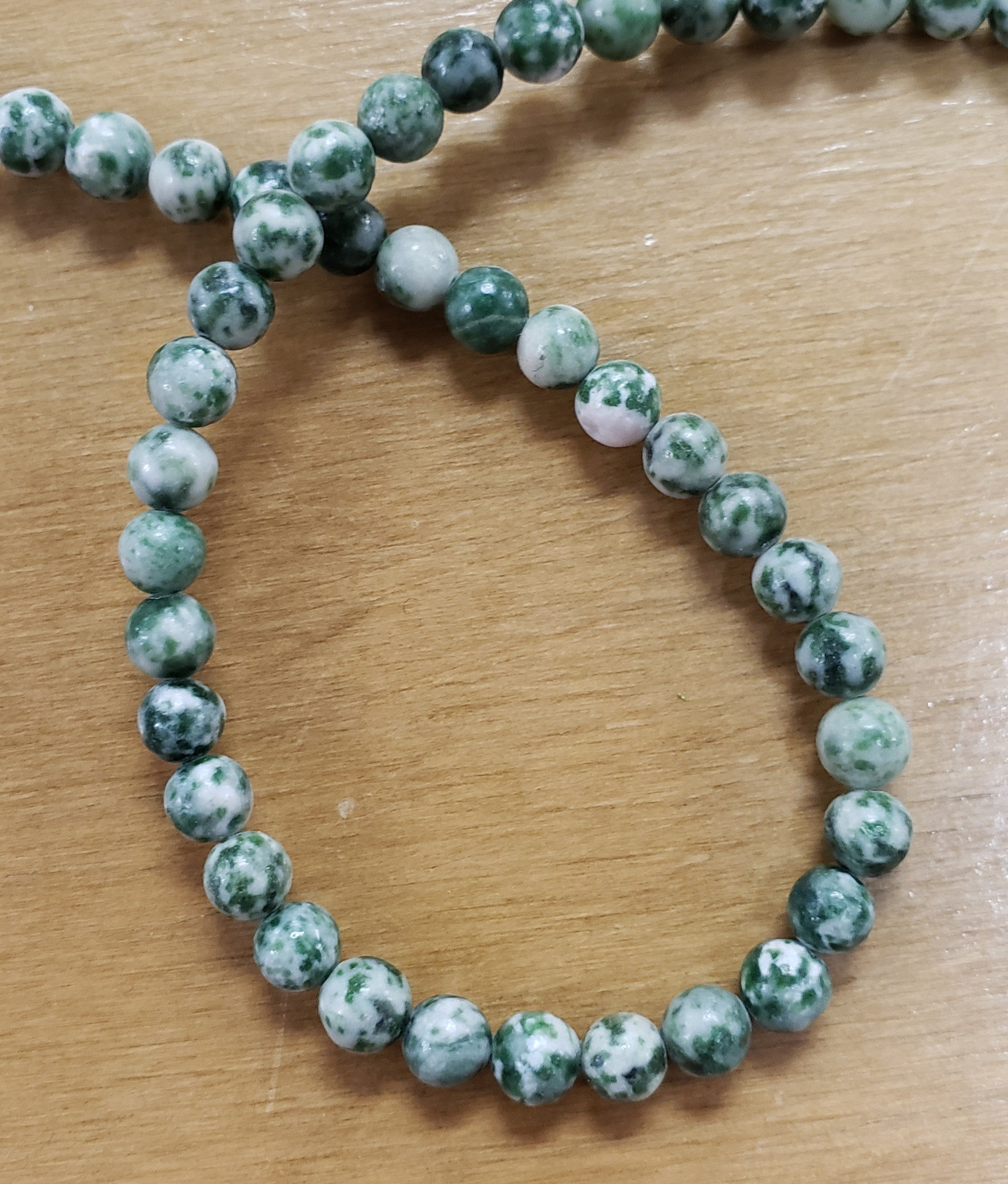 Tree Agate Beads 6mm