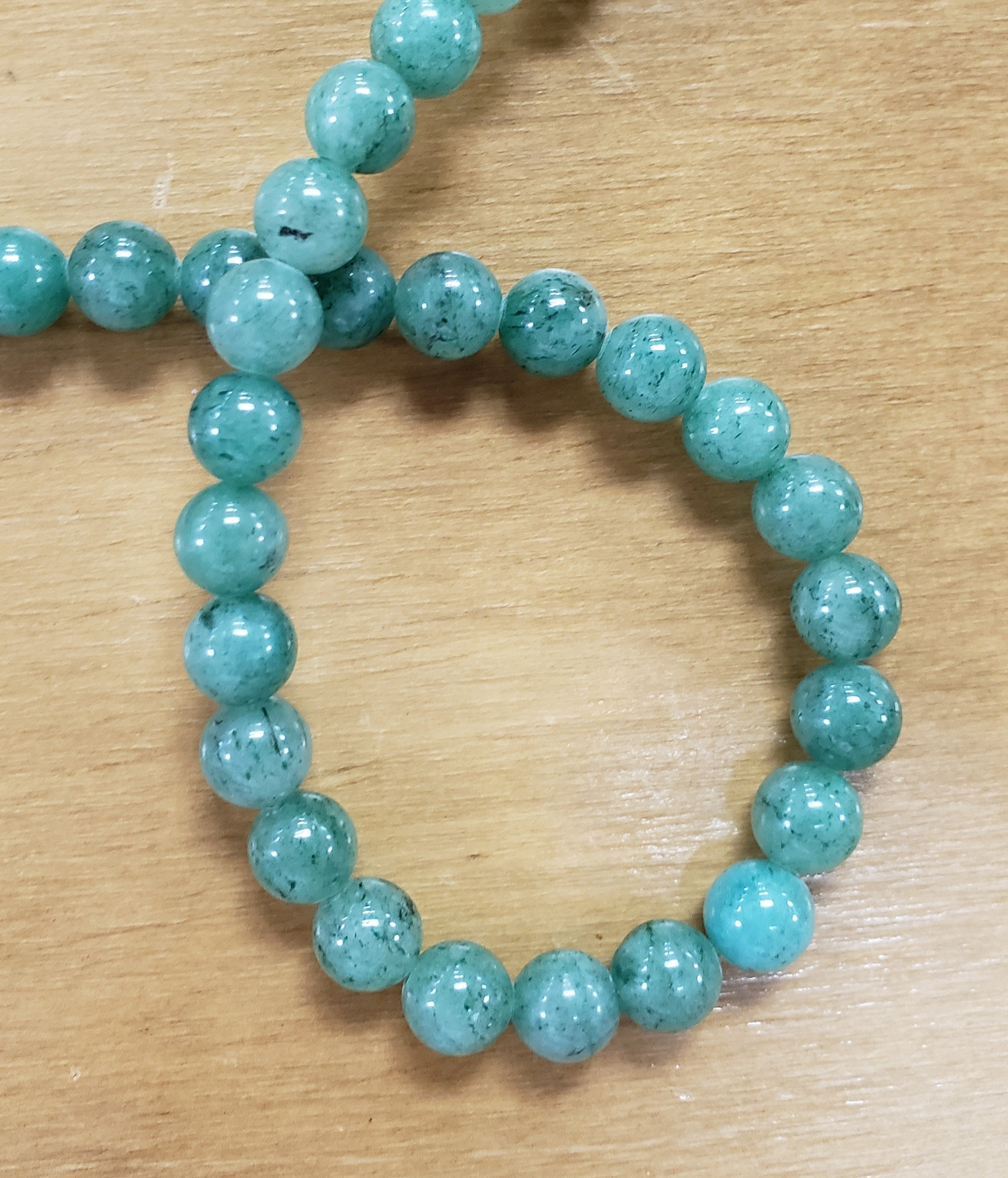 Green Aventurine Beads 8mm
