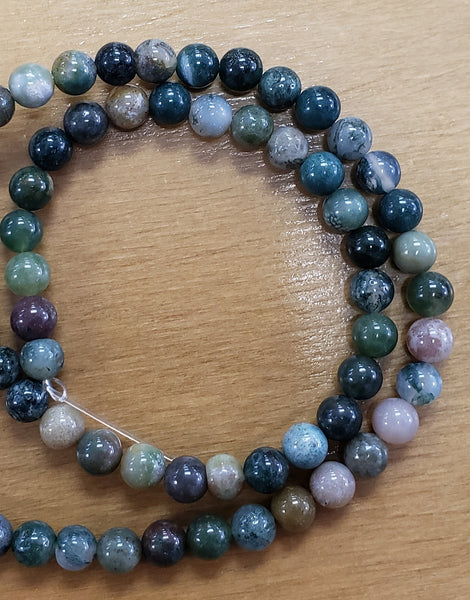 Blood Agate Beads