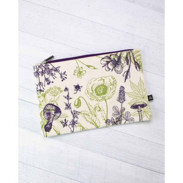 Zipper case: poisonous plants