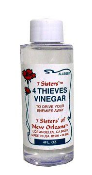 7 Sister New Orleans Four Thieves Vinegar