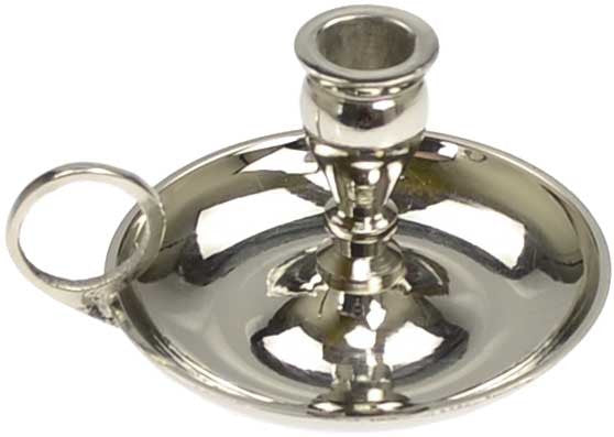 Nickel Mini Candle Holder