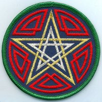 Celtic Pentagram Patch