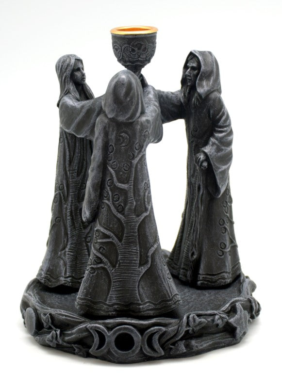 Maiden, Mother, Crone Incense/Candle Holder